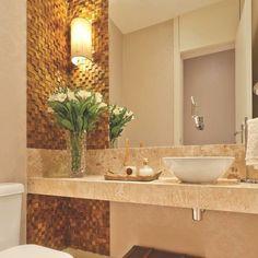 Trendy Apartment Small Bathroom Home Decor Ideas Beautiful Bathrooms, Modern Bathroom, Small Bathroom, Guest Toilet, Small Toilet, Wc Decoration, Bathroom Interior Design, Bathroom Inspiration, Home Decor