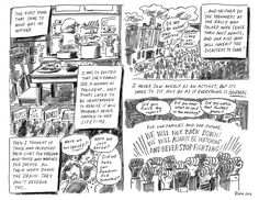 """by Rina Ayuyang Rina Ayuyang is a cartoonist from Oakland, California. Rina says, """"This comic gave me a chance to express my sadness, and anger over what may happen in the next four years, and my commitment to stand up and fight at all costs!"""" (SUBSCRIBE to RESIST!)"""
