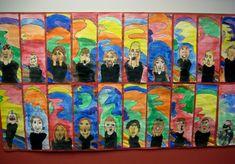 Munch Scream Self Portraits