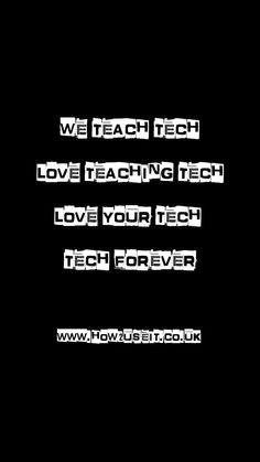 We Teach Tech Ad - www.how2useit.co.uk