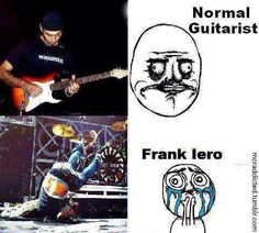 Lol. Guitarist Frank Iero of My Chemical Romance