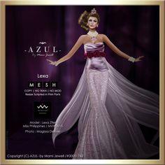 -AZUL- Lexa (c)-AZUL-byMamiJewell