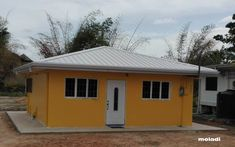 Low cost housing in Trinidad and Tobago by moladi Low Cost Housing, Building Systems, House Stairs, Affordable Housing, Model Homes, Rafting, Trinidad And Tobago, Building A House, Shed