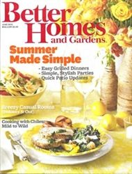 Better Homes and Gardens June 2012