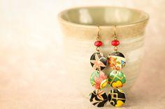 Bohemian Earrings Czech Beaded Earrings by MusingTreeStudios, $15.99 #boho #gypsy #handmade #etsy #jewelry
