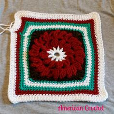 Square 5 in the American Crochet 2015 Afghan Crochet-a-Long