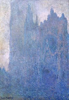 Claude Monet, Rouen Cathedral in the fog, 1894