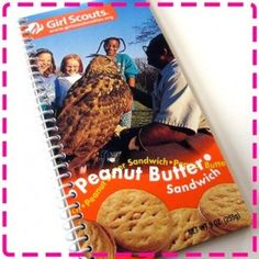 Upcycle your Favorite Girl Scout Cookie Box!  I wish I had saved my boxes!!