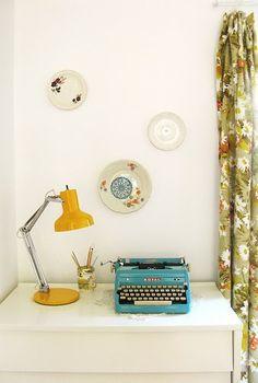 igual a la máquina de escribir que tuve en el colegio