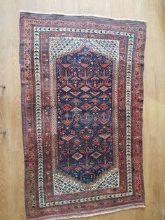 Amazing Old Unique Persian Rug X