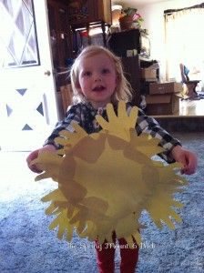Spring Time Sun Shine- Hands Toddler Tuesday