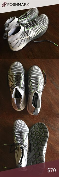 High Top Nike Running Shoes Nike Men's Training Shoes Size 13 Gently used Nike Shoes Athletic Shoes