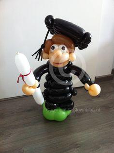 Een geslaagd kado! Gemaakt door Clown Biba