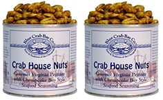 Blue Crab Bay Co. Crab House Nuts - 12 Oz Tin (Pack of 2) ** Special offer just for you. : Baking supplies