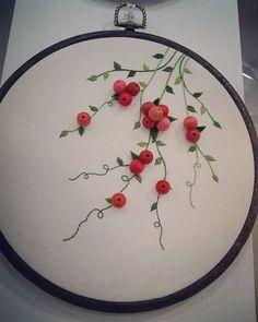 ..#레이스 다니 더 사랑스럽다~♡#프랑스자수#아오키카즈코 #커튼 #handmade