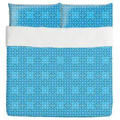 Frozen Geometry Duvet Bed Set 3 Piece Set Duvet Cover - 2 Pillow Shams - Luxury Microfiber, Soft, Breathable //Price: $120.06 & FREE Shipping //     #bedding sets