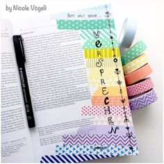 my colorful bible: 1. Mose 8 * Washi Tape / Bible Art Journaling
