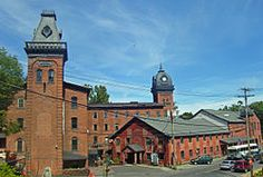 Union Mill Complex (1850-1886) - NY50 at Prospect ST, Ballston Spa, NY