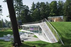 peter gluck + partners: pool pavilion