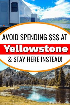 If you are looking for places to RV camp around Yellowstone National Park, we have found the best camping near Yellowstone! It's a state park that's super family friendly and the campsites are quite large for this area. If you are planning a camping trip to Yellowstone, look no further as we have found the best camping spot for you. #RVcamping #campingyellowstonenationalpark #campingaroundyellowstone #bestrvcampingyellowstone