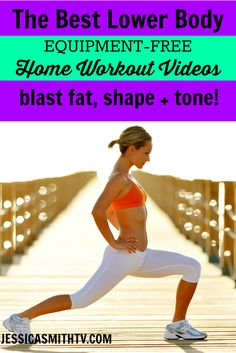 Get ready for summer with these FREE, no equipment necessary home workout videos!