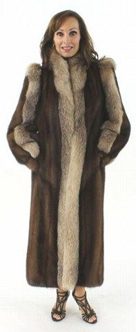 Gorgeous Wear Everywhere Classically Styled Full Length Mahogany ...