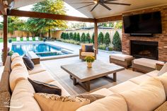 If you are looking for Pool Outdoor Kitchen, You come to the right place. Here are the Pool Outdoor Kitchen. This post about Pool Outdoor Kitchen was posted under the. Outdoor Living Rooms, Outdoor Spaces, Outdoor Pool Areas, Outdoor Patio Rooms, Outdoor Decking, Outdoor Cabana, Pool Cabana, Canopy Outdoor, Backyard Patio Designs