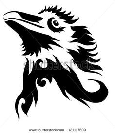 Znalezione obrazy dla zapytania blackbird head logo