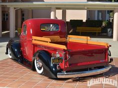1946 Chevrolet Truck Driver Side Rear Quarter View - Lowrider