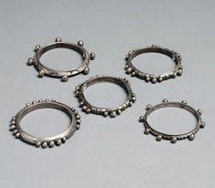 Mauritania | 5 silver bracelets | 230 €  ~ sold (Sept '11)