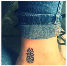 My Pineapple Tattoo Pineapples are the international symbol of Friendship & Hospitality! I want this so bad!