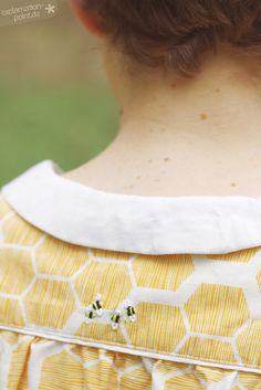 Vintage themed Mimi blouse by Tilly and the Buttons @tillybuttons