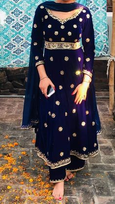 Buy Anarkali dresses for women online in India. 👉 CALL US : + 91 - or Whatsapp Designer Anarkali Suit Work : Handwork COLOURS Available In All Colours Fine quality fabric Punjabi Suits Designer Boutique, Indian Designer Suits, Embroidery Suits Punjabi, Embroidery Suits Design, Pakistani Outfits, Indian Outfits, Chandigarh, Red Lehenga, Lehenga Choli
