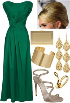 Green Dress Outfit Ideas Pictures nice emerald green dress with gold accessories in 2019 Green Dress Outfit Ideas. Here is Green Dress Outfit Ideas Pictures for you. Green Dress Outfit Ideas green dresses emerald khaki macys simplistic 9 a. Green Dress Outfit, Dress Outfits, Fashion Dresses, Wearing Dresses, Trend Fashion, Look Fashion, Fashion Beauty, Pretty Dresses, Beautiful Dresses