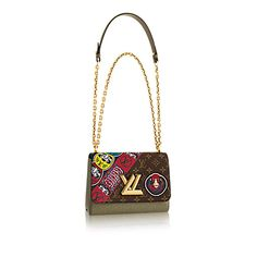 Twist MM Monogram Canvas in WOMEN's HANDBAGS collections by Louis Vuitton