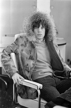 Mick Jagger-Photo by Terry O'Neill.