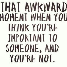 I don't think awkward is the right word..haha