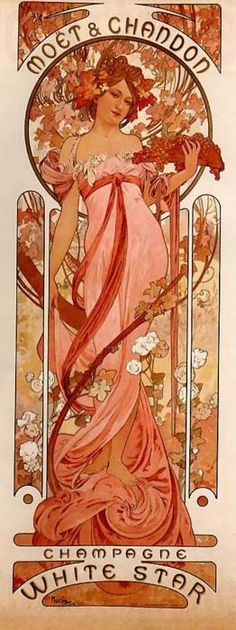 Love Alphonse Mucha. Who doesn't? He is one of my favorite artist