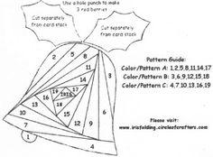 Iris Paper Folding Templates | Stamp Express - Paper Crafting, Scrapbooking, Rubber Stamping