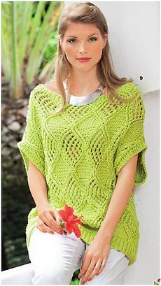 Crochet summer outfits clothes 57 Ideas for 2019 Lace Knitting, Knitting Stitches, Knitting Patterns, Crochet Shrug Pattern, Free Pattern, Marley Crochet, Summer Tunics, Crochet Designs, Knit Crochet
