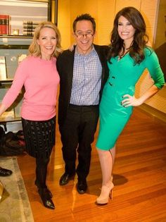 Dana Perino with Greg Gutfeld & Kimberly Guilfoyle