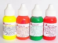 Resin Obsession - Alumilite colorants complete set of 4 fluorescent pigments