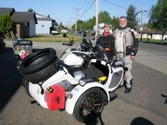 The Expedition Sidecar Ural Motorcycle, Motorcycle Wheels, Car Wheels, Klr 650, Bmw Concept, Vintage Bikes, Quad, Motorbikes, Bicycle