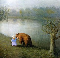[EndLiss scans - Wildlife Art] Michael Sowa - The Bear