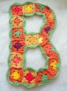 granny square letters