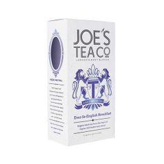 JOE'S TEA イングリッシュブレックファーストロンドンNo,1ブレンドティーカンパニー! 極上のセイロンティーを使用し、朝にふさわしいブレンドティー!濃いめの紅茶でフレッシュでパンチのあるいっぱいをどうぞ!