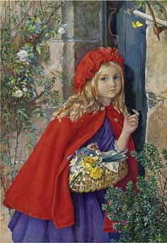LITTLE RED RIDING HOOD by ISABEL NAFTEL