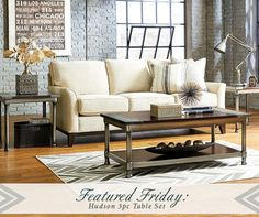 Charmant Todayu0027s Featured Friday Is Out Hudson 3 Piece Table Set! The Set Includes  One Coffee