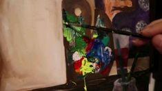 70x80 cm Acrylic on canvas Painting Videos, Portrait, Canvas, Tela, Headshot Photography, Portrait Paintings, Canvases, Drawings, Portraits