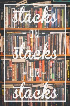 Stacks I haven't read. Stacks I've read but want to re-read. Stacks to donate. Stacks to give to friends. World Of Books, Book Nooks, I Love Books, Read Books, Love Reading, Book Nerd, Book Quotes, Book Lovers, Teaching